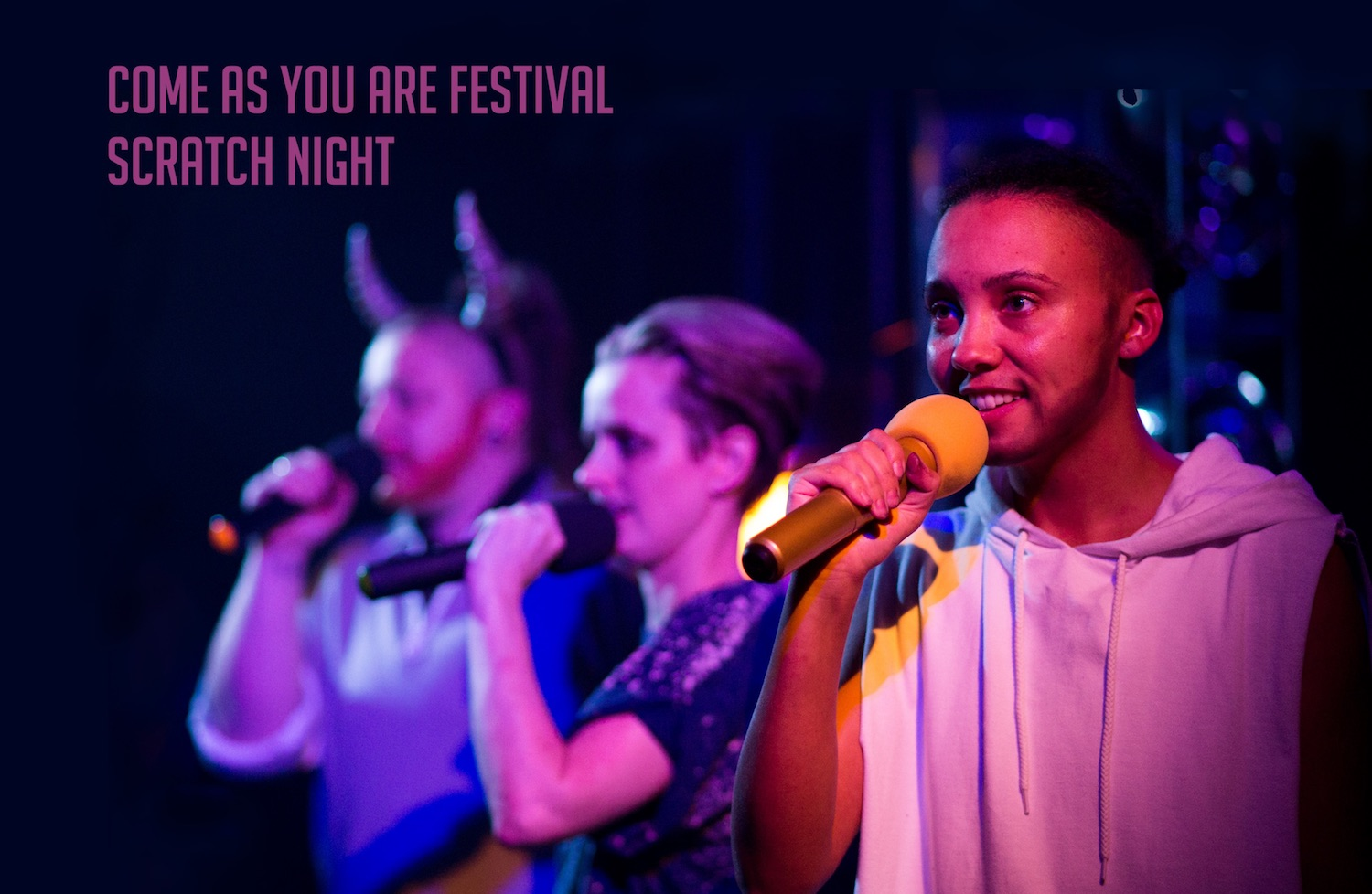 Call for submissions - Come As You Are Festival