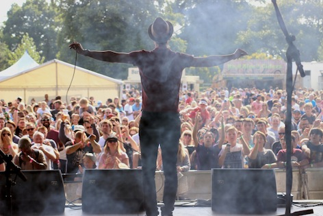 Shlomo at Village Green. Photo by Matt Allen