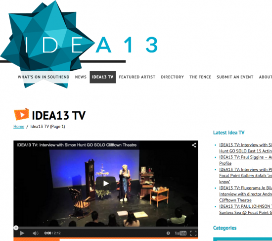 What's on in Southend IDEA13