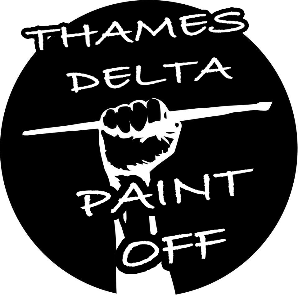 THAMES DELTA PAINT OFF