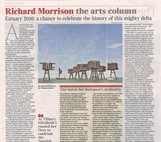 ESTUARY IN THE TIMES