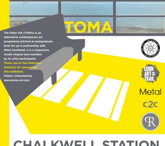 TOMA Chalkwell Station Poster Approved