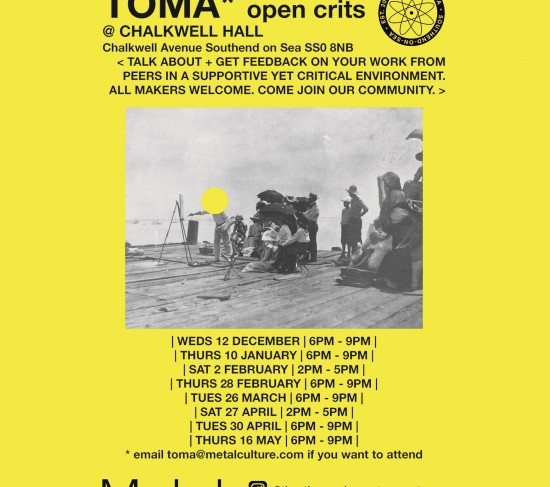 TOMA OPEN CRITS FLYER dec 2018 Square