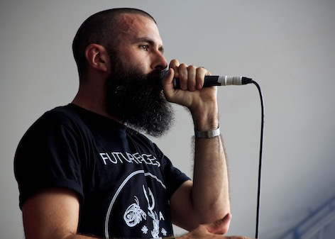 Scroobius Pip.  Photo by Clarissa Debenham